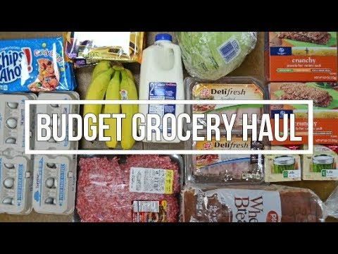 Budget Grocery Haul, Fred Meyer and Safeway