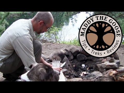 Gear Reviews in Camp - (4 of 10) 5 Day Solo Canoe Trip with Dog