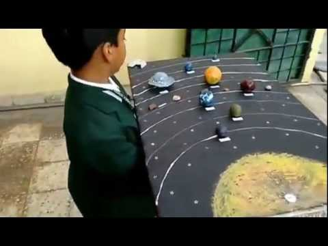 Solar System School Science Project for Class 3
