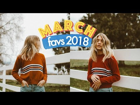 March Favorites 2018 | Marla Catherine