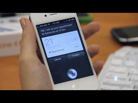 Calendars with Siri