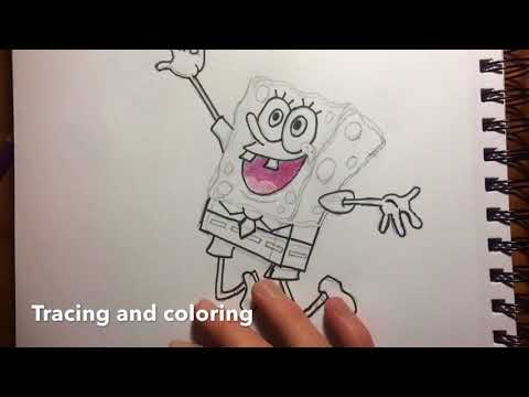 Drawing SpongeBob