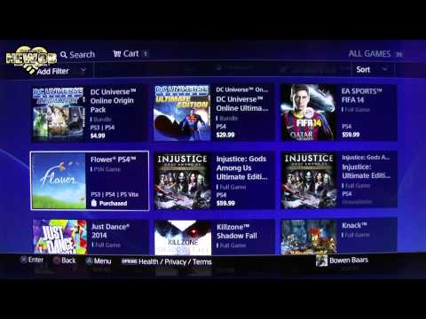 PS4 - Free Games, Apps and Demos - 2013