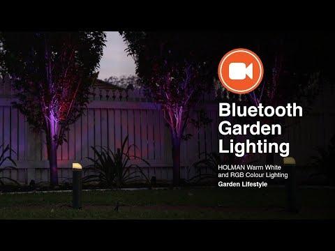 Holman Bluetooth Garden Lights with The Garden Gurus