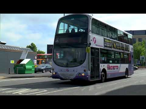BURY GREATER MANCHESTER BUSES MAY 2018