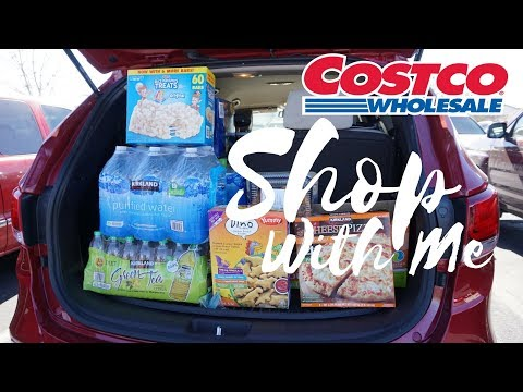 COSTCO SHOP WITH ME & HAUL - $100 BUDGET | FAMILY OF 6