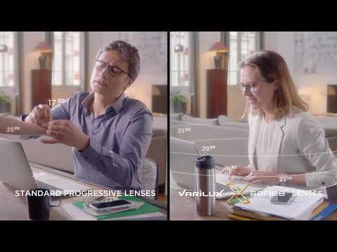 Varilux X Series - Progressive Lenses That Provide Sharper Vision Within Arm's Reach