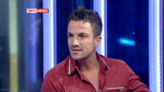 Peter Andre stops interveiw with Kay Burley on Sky News After Questions on his children and adoption