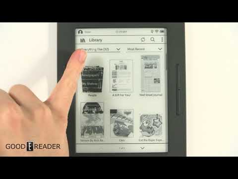 Nook Glowlight 3 Beta Update gives you more storage