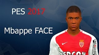 Kylian Mbappe • Welcome to PSG • PES 2017 • PSP/PS2