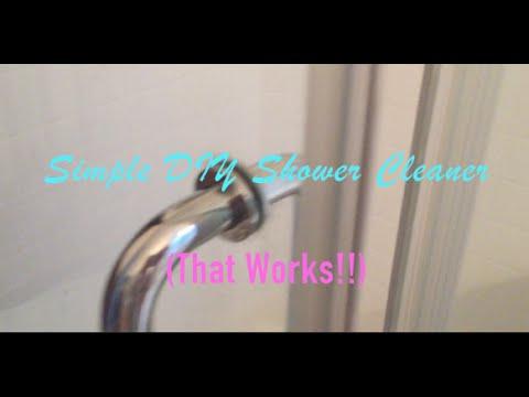 Simple DIY Shower Cleaner (That Works!!)   Vinegar & Dawn