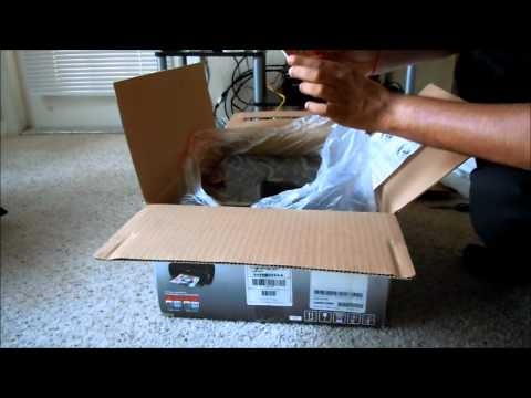 Canon PIXMA MP495 Wireless Photo All-in-One Inkjet Printer Unboxing