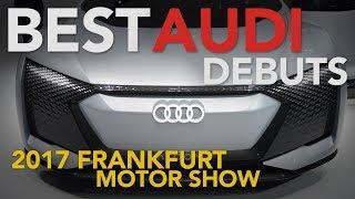2018 Audi R8 V10 RWS, Aicon Concept, RS 4 Avant and g-tron Models: 2017 Frankfurt Motor Show