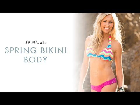 Get A Spring Bikini Body | 10 Minute Full Body Workout | Danette May