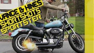 Danmoto Highwayman Harley Sportster Exhaust Install