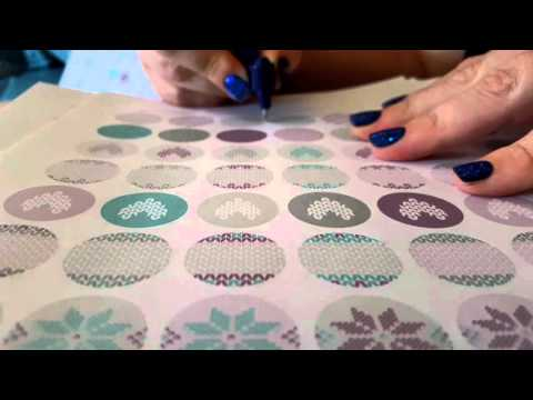 Gyro cut kiss cutting printable stickers tips