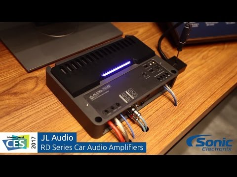 JL Audio RD Series Car Amplifiers   Clipping LED Demonstration   CES 2017