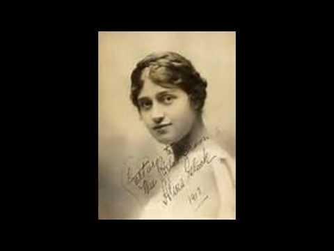 Violinist Efrem Zimbalist and british soprano Alma Gluck  (1912-1919)