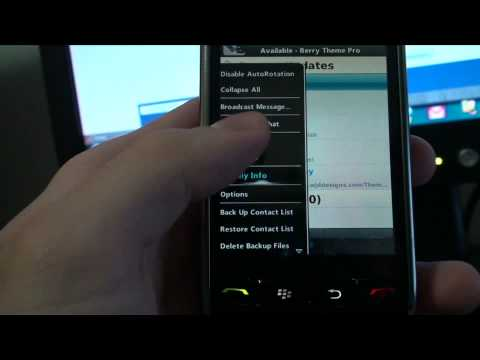 Berry Barcode : BBM 5.0 Leaked Barcode Scanner Demo
