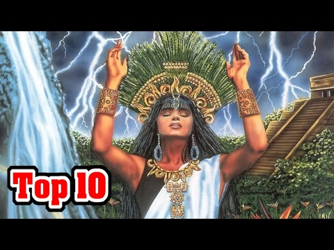 Top 10 Gods and Goddesses of Mayan Mythology