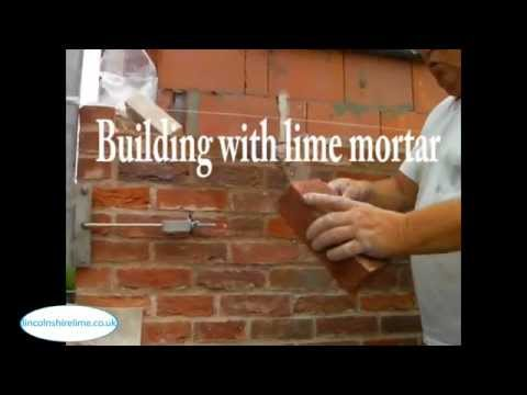 Building with lime mortar   Lincolnshire lime
