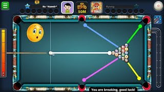 The BEST BREAK In 8 Ball Pool With The WORST CUE (you will be surprised when I'll pot one)