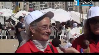 تلفزيون الاسكندرية يستضيف مدام زينب عز الدين و مدام شادية الراغب