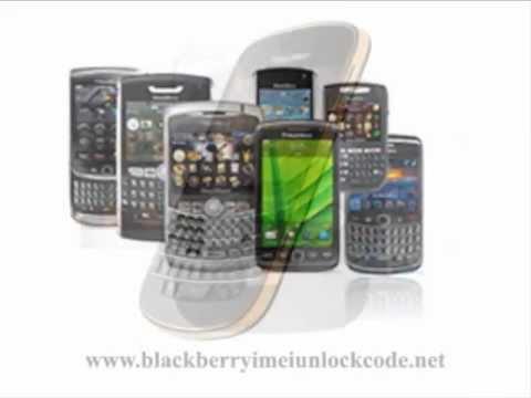 How To Get Blackberry Unlock Codes