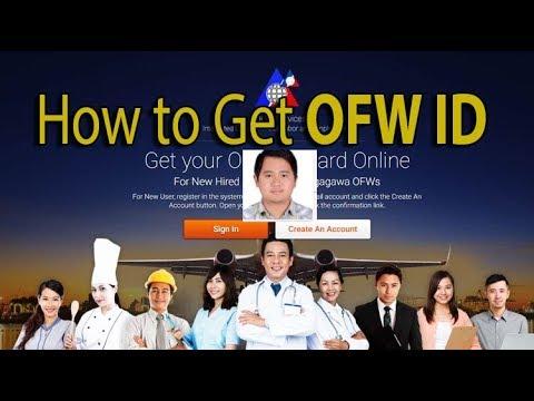 HOW TO GET IDOLE ID (OFW ID)
