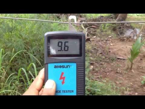 Sri Lankan Homemade Electric Fence