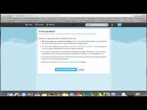 How to Delete Your Twitter Account | H2TechVideos