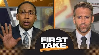 Stephen A. Smith: Lakers are going to get blown out by Warriors on Christmas | First Take | ESPN