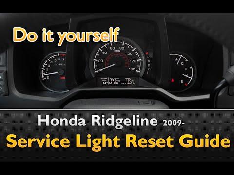 Honda Ridgeline Service Light Reset