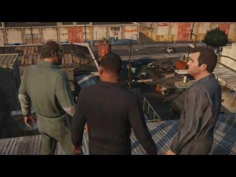 [Vietsub] Grand Theft Auto V  Official Gameplay Video