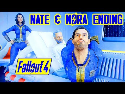 Fallout 4 - NATE & NORA SURVIVE & DESTROY THE INSTITUTE
