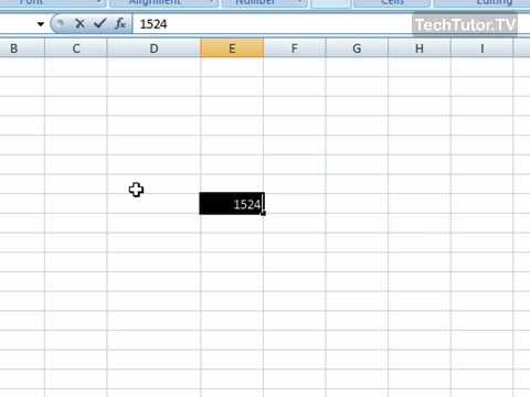 Turn Off the Mini Toolbar in Excel 2007