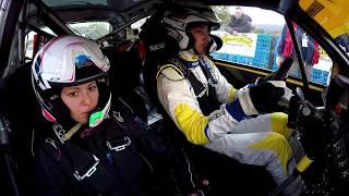 RUNFOLA - FEDERIGHI cameracar vincitori assoluti 4° Rally Day Pomarance su Clio S1600 Top Rally