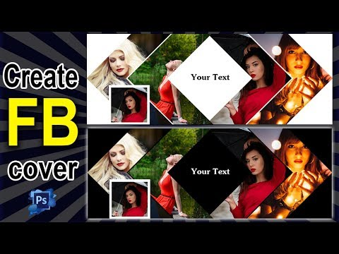 How to Create Amazing Facebook Cover Design in Photoshop CS6 Tutorial Bangla  by creative multimedia