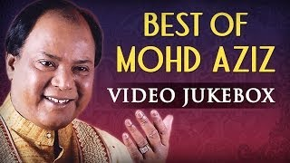 Mohd Aziz Superhit Song Collection (HD) - Jukebox - Old Bollywood Classic Songs