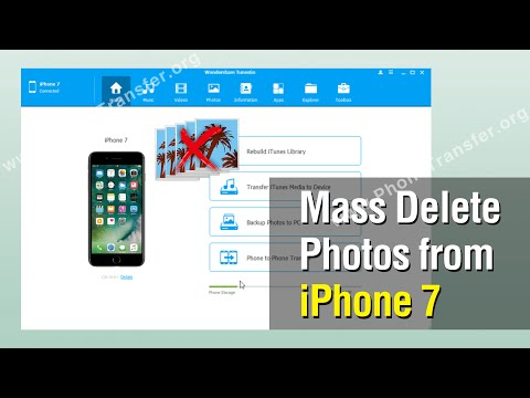 How to Mass Delete Photos from iPhone 7, Remove Photos Batch on iPhone 7
