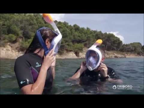 Full face snorkel mask: Tribord EasyBreath