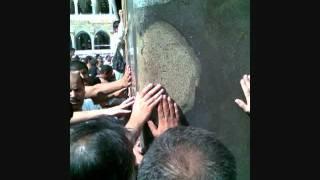 Broken Wall Of Holly Kaaba On Zahoor Of  HAZRAT ALI IBNE ABU TALIB (A.S.)-13  RAJAB.wmv