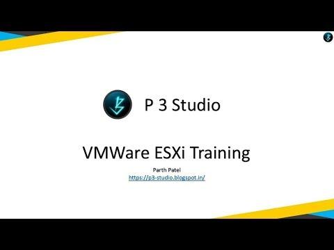 VMWare ESXi Training - [5] Creating a virtual machine