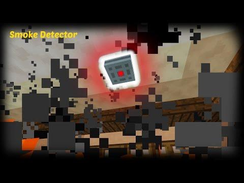 Minecraft - How to make a Smoke Detector