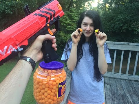 A Really Cheesy Nerf Mod (The Rival Apollo Can Fire Cheese Balls)