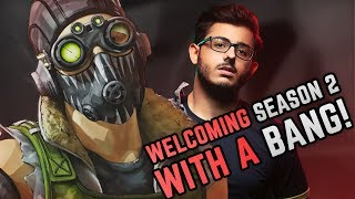 WELCOMING APEX SEASON 2 WITH BANG | EPIC GAMES | HIGHLIGHT