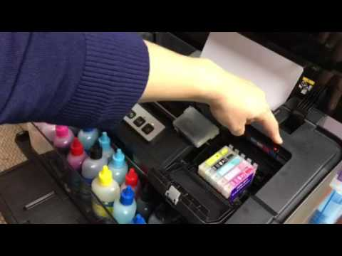 Refillable ink cartridges for the Epson 1430