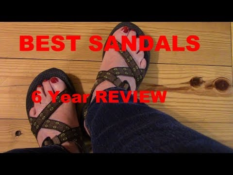 CHACO Sandals 6 Year REVIEW The BEST