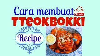 Download cara membuat tteokbokki   Korean spicy rice cake recipe (ENG SUB) Video