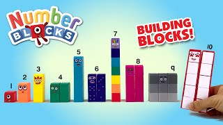 Numberblocks 1 to 10 Building Blocks Set of 55 by CBeebies || Keith's Toy Box